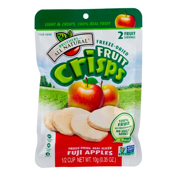 Brothers All Natural Freeze Dried Crisps Fuji Apples