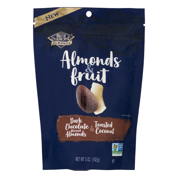 Blue Diamond Almonds & Fruit Dark Chocolate & Toasted Coconut