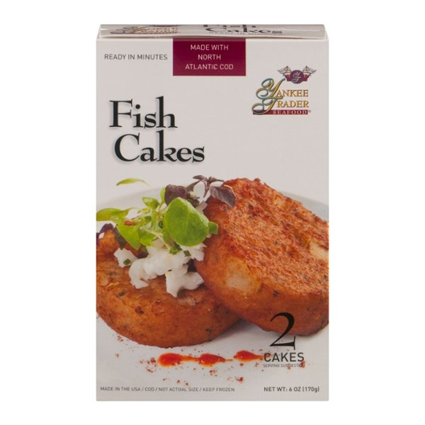 Yankee Trader New England Cod Fish Cakes - 2 ct Frozen