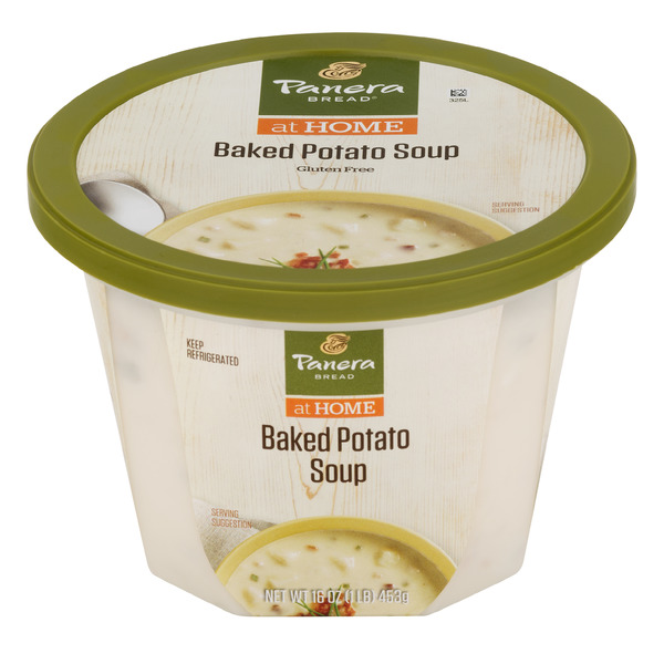 Panera Bread at Home Baked Potato Soup Refrigerated Gluten Free