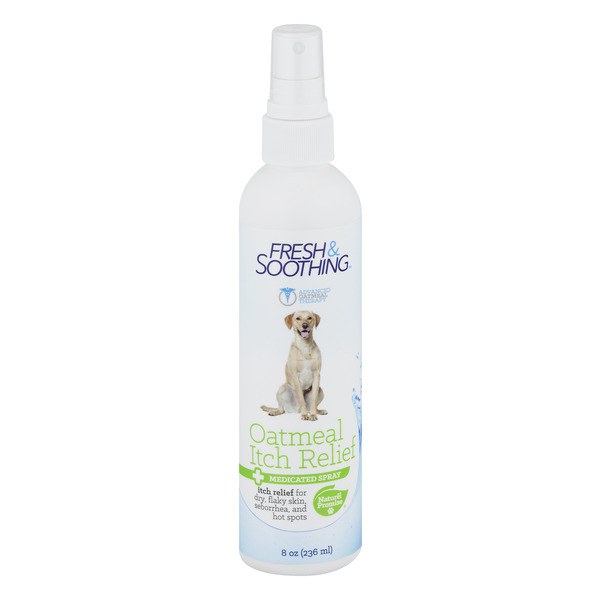Naturel Promise Fresh & Soothing Medicated Spray Itch Relief Oatmeal