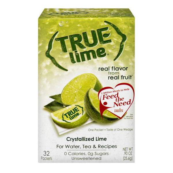 True Lime Crystallized Lime Substitute - 32 ct