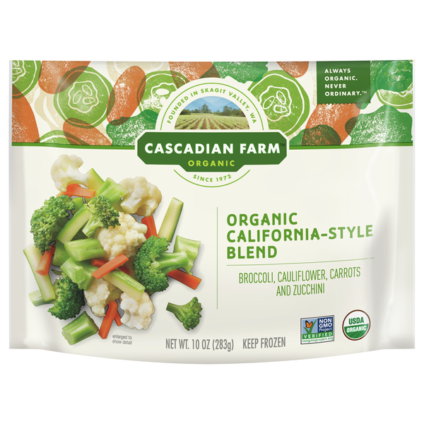 Cascadian Farm Organic Vegetables California-Style Blend Frozen