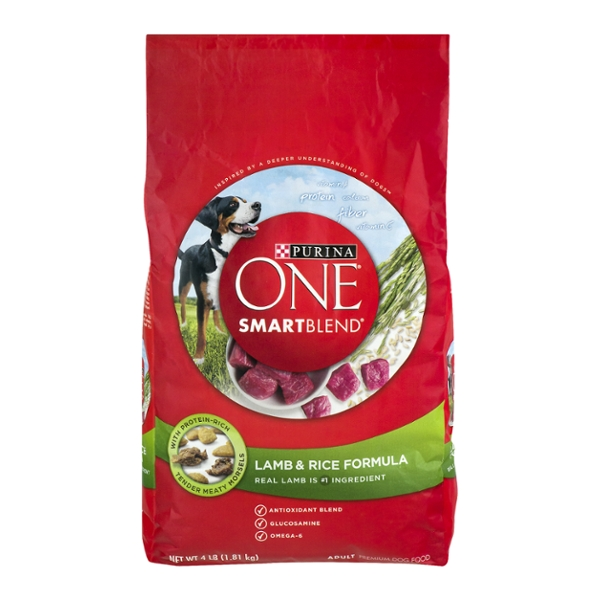 Purina ONE SmartBlend Adult Dry Dog Food Lamb & Rice