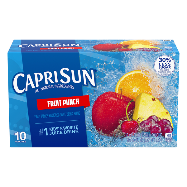 Capri Sun Fruit Punch Juice - 10 pk