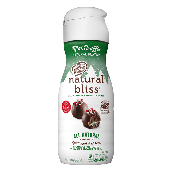 Nestle Coffee-mate Natural Bliss Almond Milk Creamer Mint Truffle
