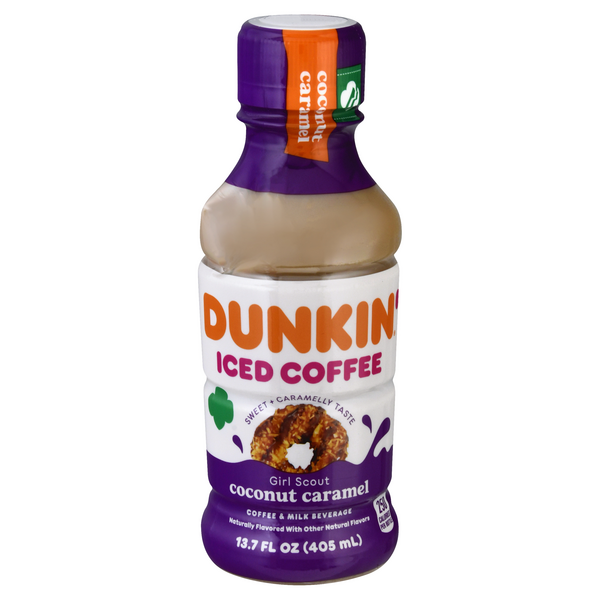 Dunkin' Iced Coffee Girl Scout Coconut Caramel