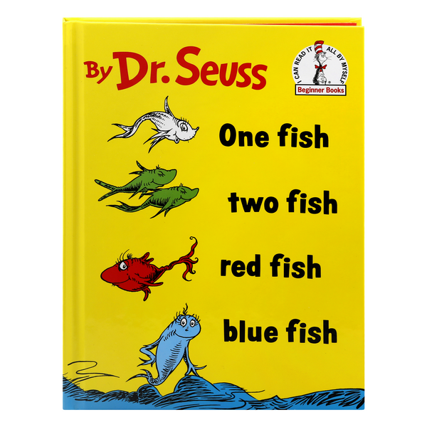 Dr. Seuss One Fish Two Fish Red Fish Blue Fish Beginner Books