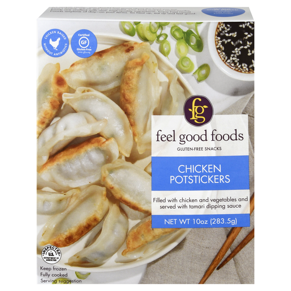 Feel Good Foods Chicken Potstickers Gluten Free