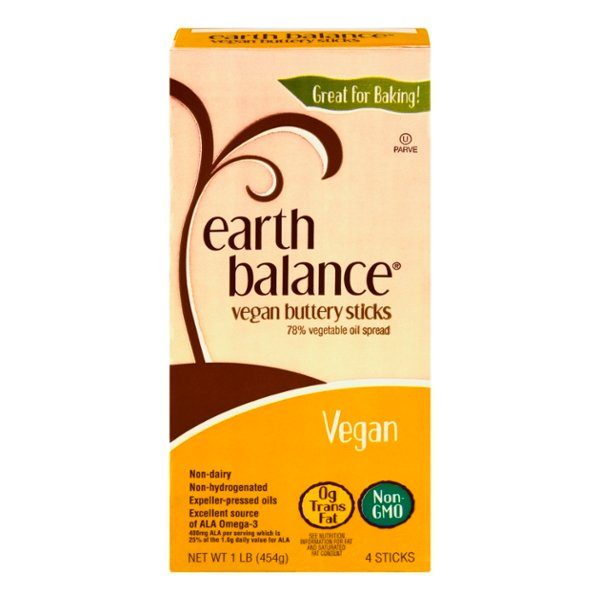 Earth Balance Vegan Buttery Sticks - 4 ct