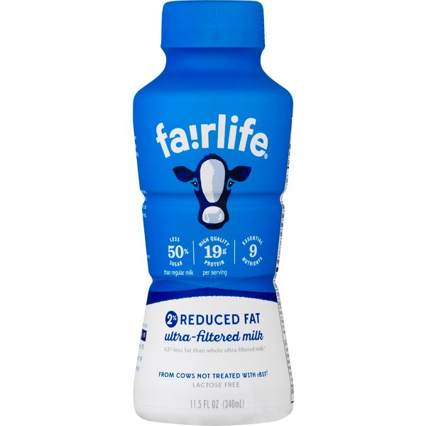 fairlife Milk 2% Reduced Fat Ultra-Filtered
