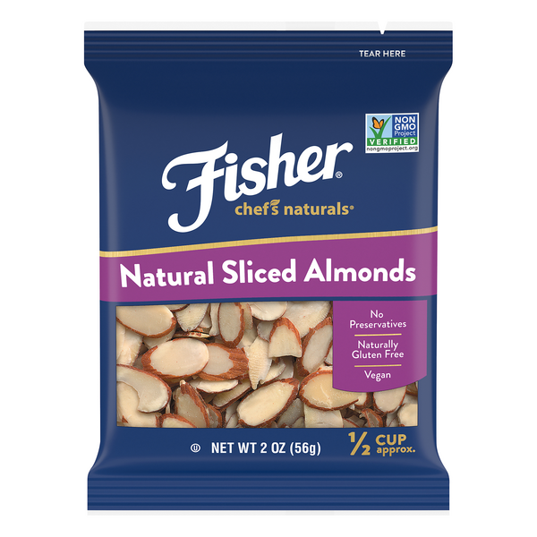 Fisher Chef's Naturals Almonds Sliced