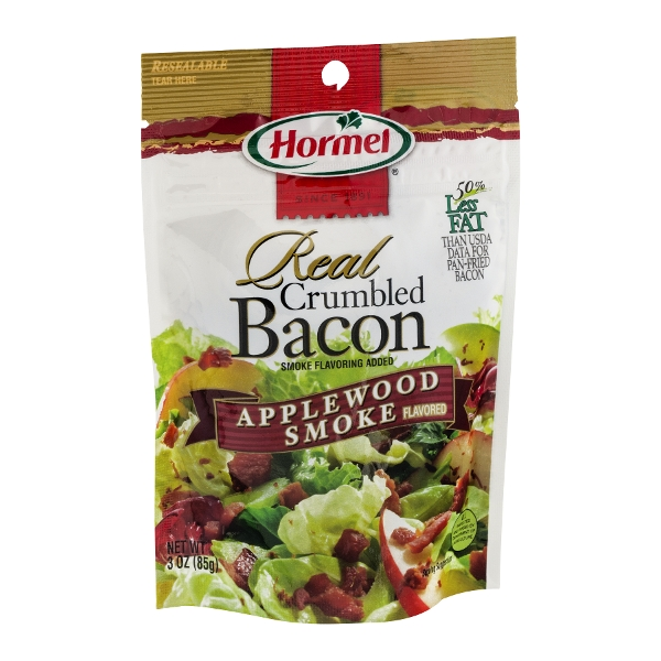 Hormel Real Crumbled Bacon Applewood Smoke Flavored