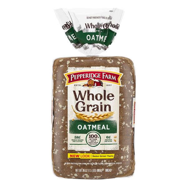 Pepperidge Farm Whole Grain Bread Oatmeal