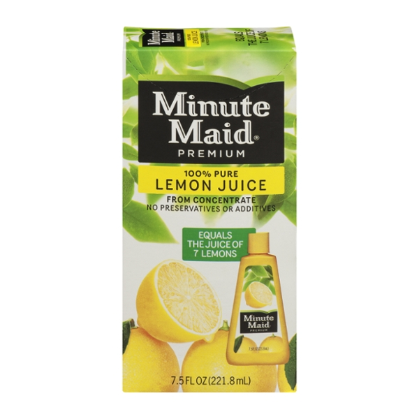 Minute Maid Premium 100% Pure Lemon Juice from Concentrate