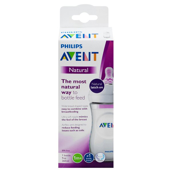 Philips Avent Natural Bottle BPA Free