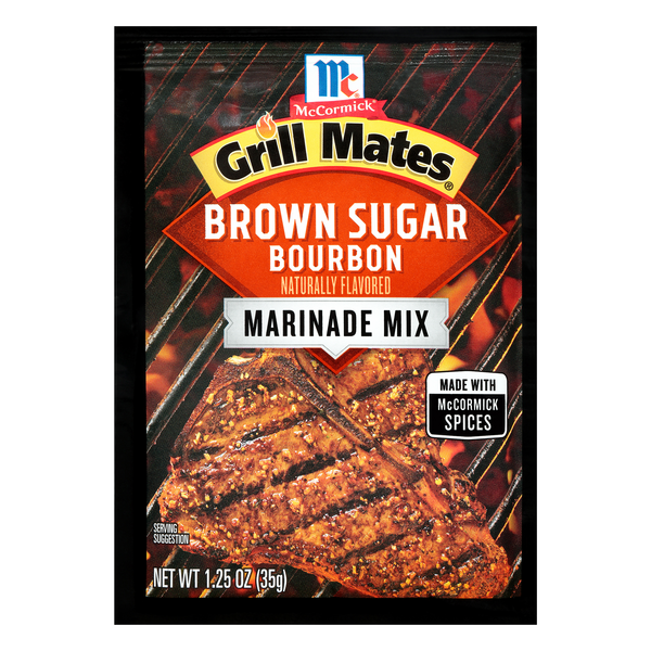 McCormick Grill Mates Marinade Brown Sugar Bourbon