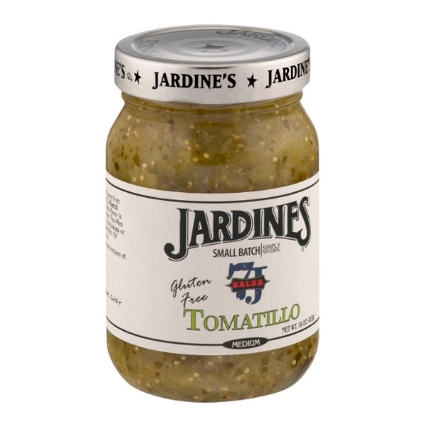 Jardines 7J Salsa Tomatillo Medium