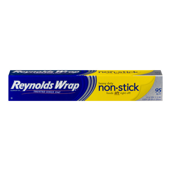 Reynolds Wrap Aluminum Foil Non-Stick Heavy Duty 12 Inch Wide