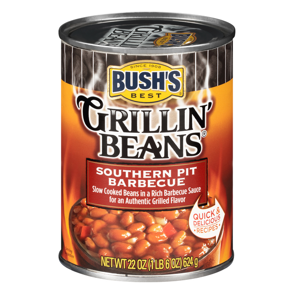 Bush's Best Grillin' Beans Southern Pit Barbecue