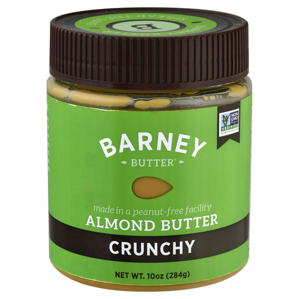 Barney Butter Almond Butter Crunchy All Natural