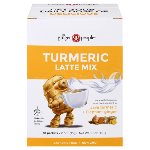 The Ginger People Turmeric Latte Mix Caffeine Free