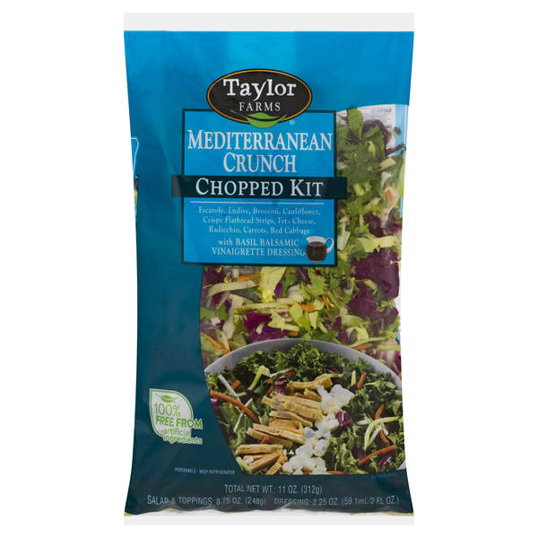 Taylor Farms Chopped Salad Kit Mediterranean Crunch