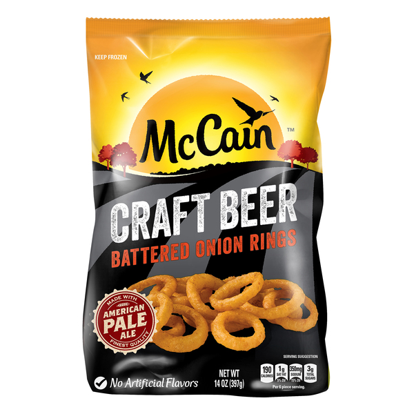 McCain Craft Beer Battered Onion Rings