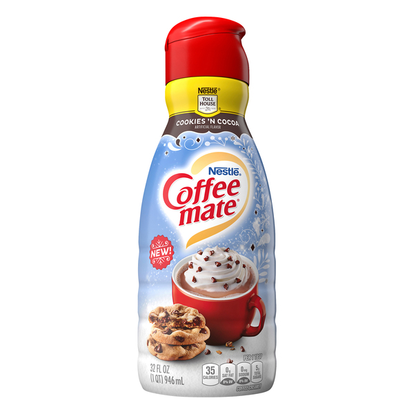 Nestle Coffee-mate Coffee Creamer Toll House Cookies 'n Cocoa