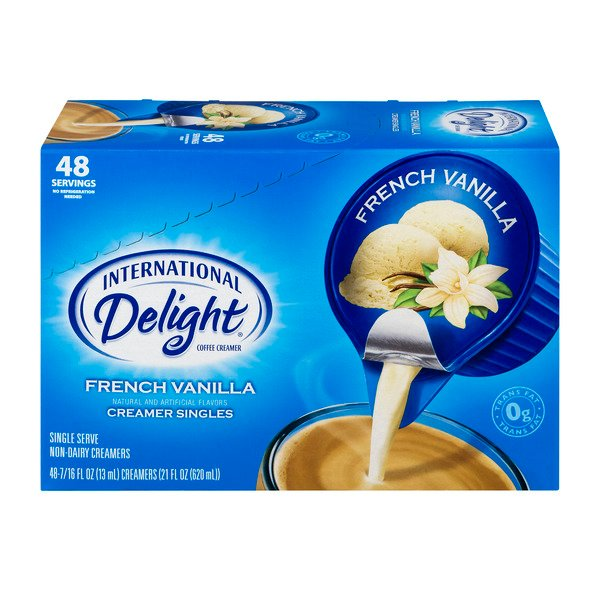 International Delight Creamer Singles French Vanilla - 48 ct