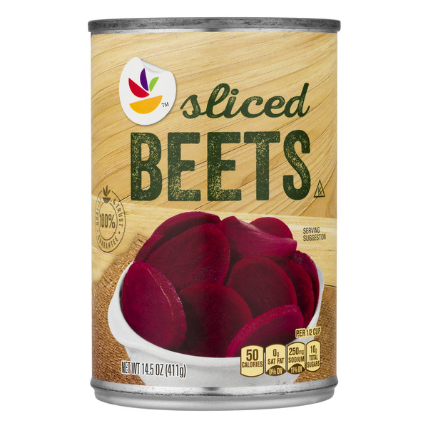 Giant Beets Sliced
