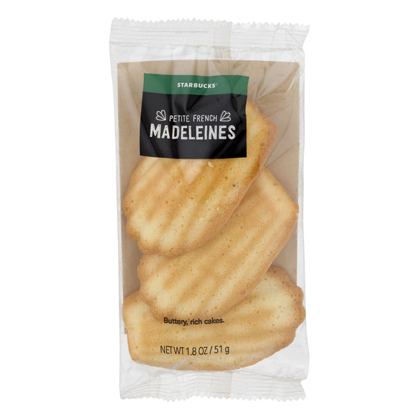 Starbucks Petite French Madeleines - 3 ct