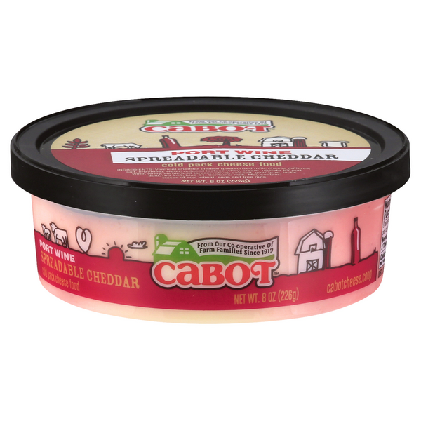 Cabot Spreadable Cheese Port Wine