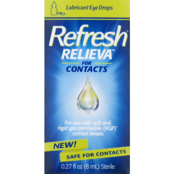 Refresh Relieva Lubricant Drops For Contacts
