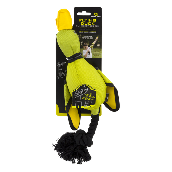 Hyper Pet Flying Duck Slingshot Dog Toy