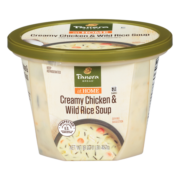 Panera Bread at Home Creamy Chicken & Wild Rice Soup