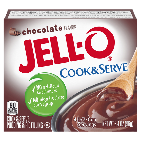 Jell-O Cook & Serve Pudding & Pie Filling Chocolate