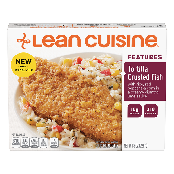 Lean Cuisine Features Tortilla Crusted Fish