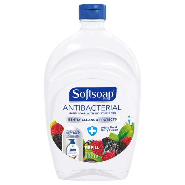 Softsoap Antibacterial Hand Soap Refill White Tea & Berry Fusion