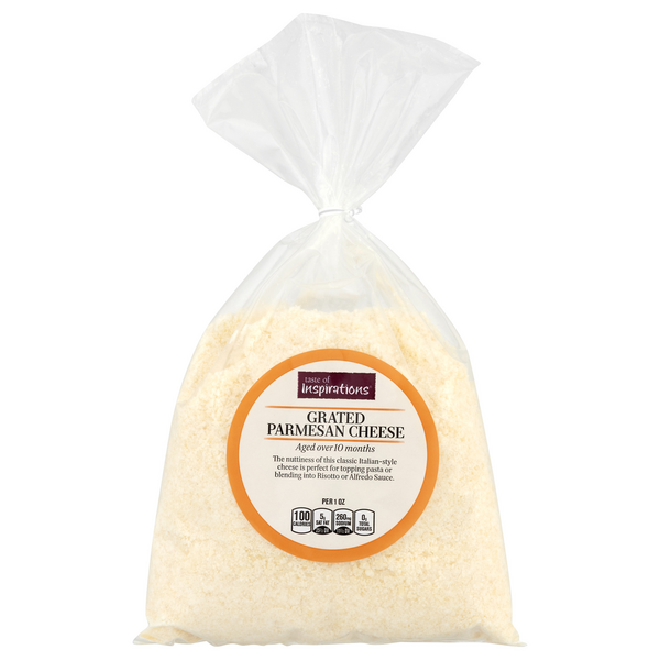 Taste of Inspirations Parmesan Cheese Grated