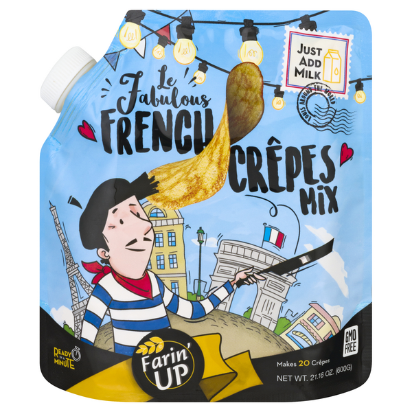 Le Fabulous French Crepes Mix