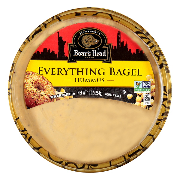 Boar's Head Everything Bagel Hummus Gluten Free