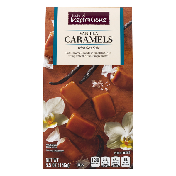 Taste of Inspirations Vanilla Caramels with Sea Salt