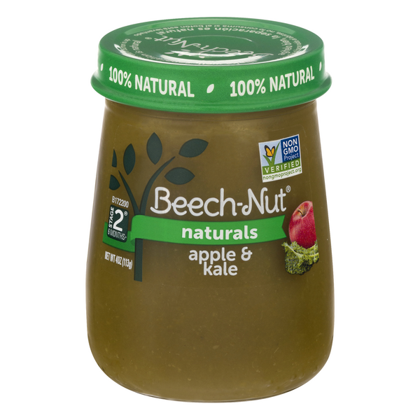 Beech-Nut Naturals Stage 2 Baby Food Apple & Kale