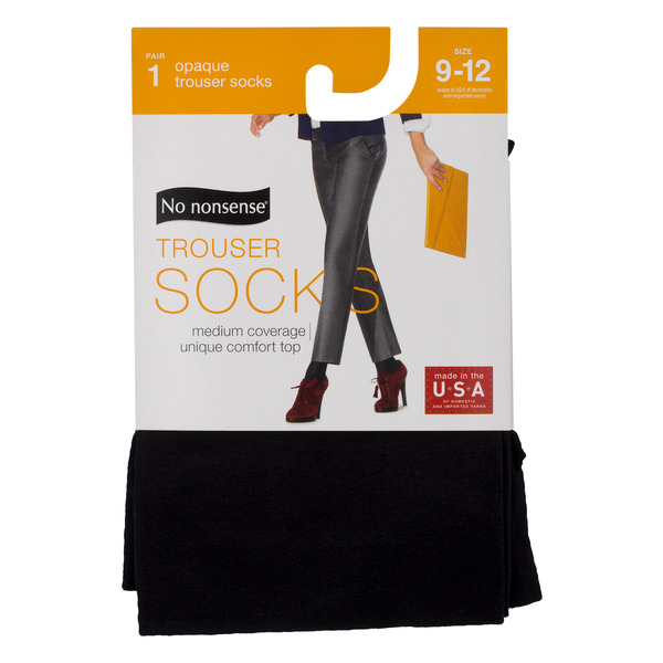 No nonsense Opaque Trouser Socks 9-12
