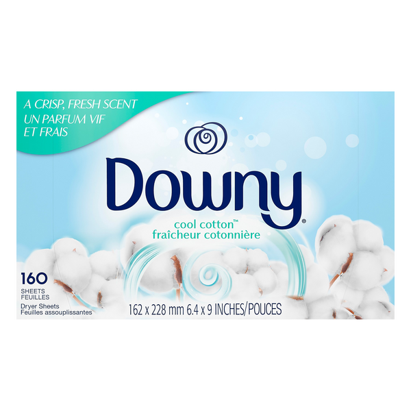 Downy Dryer Sheets Cool Cotton
