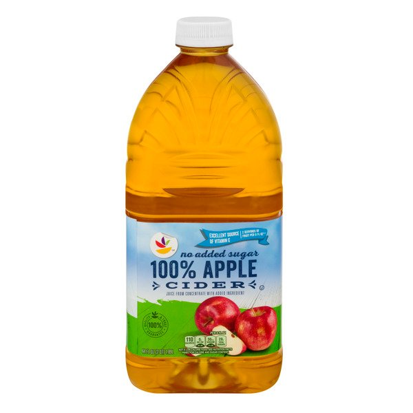 MARTIN'S 100% Apple Cider No Added Sugar from Concentrate