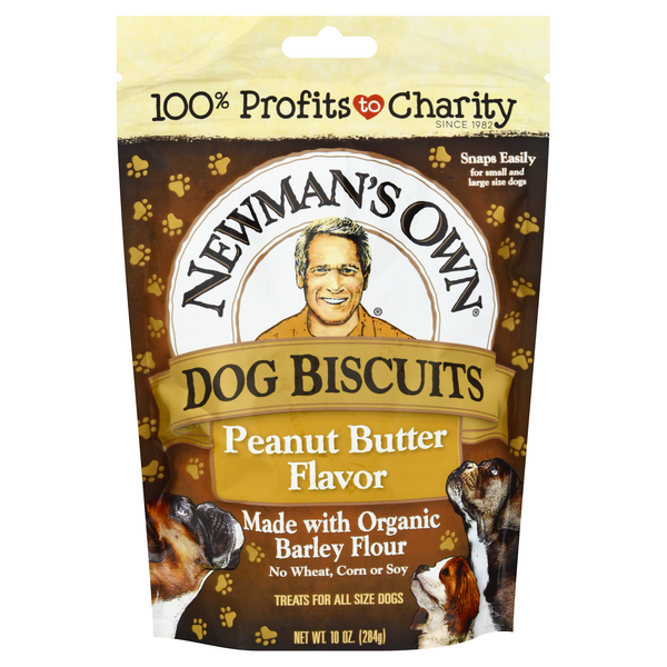 Newman's Own Dog Biscuits Peanut Butter