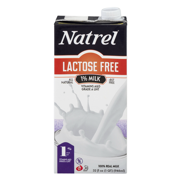 Natrel 1% Milk Lactose Free All Natural