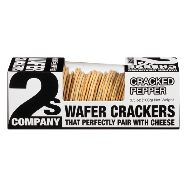 2s Company Wafer Crackers Cracked Pepper